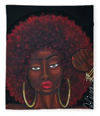 Soul Sista Fleece Blanket