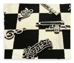 Sound Cheque Fleece Blanket