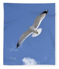 Souring High  Fleece Blanket