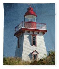 Souris Lighthouse 3 Fleece Blanket