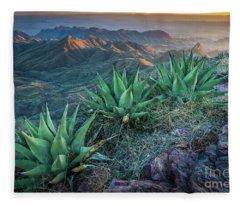 South Rim Twilight Fleece Blanket