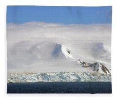 South Shetland Islands Fleece Blanket