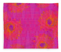 Southwest Bouquet Fleece Blanket