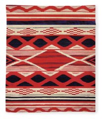 Southwest Tribal Design Fleece Blanket
