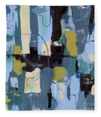 Spa Abstract 2 Fleece Blanket