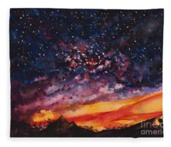 Space Oddity  Fleece Blanket