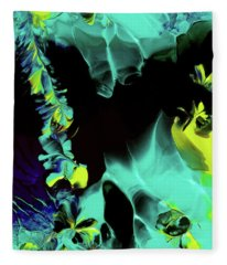 Space Vines Fleece Blanket