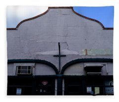 Spanish Architecture Photo In Saint Augustine Florida Fleece Blanket
