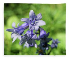 Spanish Bluebell Fleece Blanket