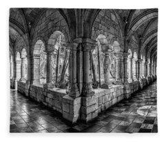 Spanish Monastery Fleece Blanket