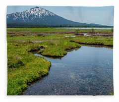 Sparks Spring Bloom  Fleece Blanket