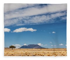 Fleece Blanket featuring the photograph Sparse by Rick Furmanek
