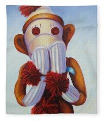 Speak No Bad Stuff Fleece Blanket