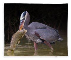 Spear Fisher Fleece Blanket