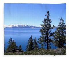 Spectacular Lake Tahoe Fleece Blanket