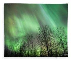 Spectacular Lights Fleece Blanket