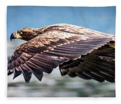 Speeding Fleece Blanket