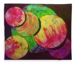Spheres Fleece Blanket