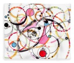 Spheres Of Influence Fleece Blanket