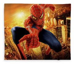 Spider-man 2 2004 Fleece Blanket