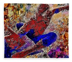 Spiderman 2 Fleece Blanket