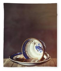 Spilt Tea Fleece Blanket