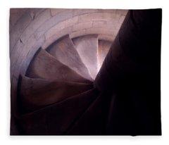 Spiral Of Time Fleece Blanket