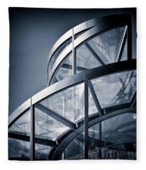 Spiral Staircase Fleece Blanket