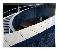 Spiral Stiars In Downtown Tacoma Washington Fleece Blanket