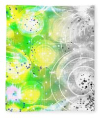 Spirit Of Nature I Fleece Blanket