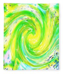 Spirit Of Nature I I Fleece Blanket