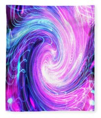 Spirit Of Passion I Fleece Blanket