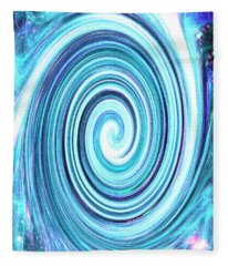 Spirit Of Sky I Fleece Blanket