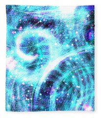 Spirit Of Sky I I Fleece Blanket