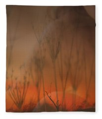 Spirit Of The Land Fleece Blanket