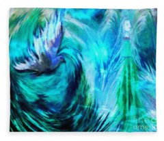 Spirit Sanctuary Fleece Blanket