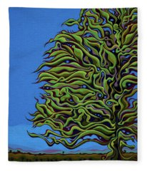 Spirit Tree Dawning Fleece Blanket