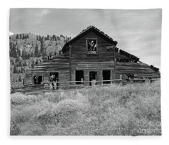 Spirits Of The Roadhouse Fleece Blanket