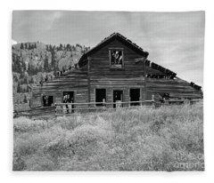 Spirits Of The Roadhouse Fleece Blanket