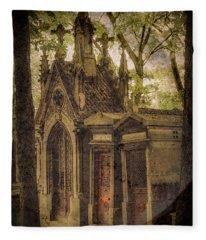 Paris, France - Spirits - Pere-lachaise Fleece Blanket