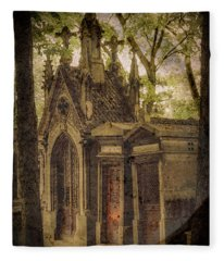 Paris, France - Spirits - Pere-lachaise Fleece Blanket