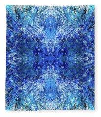 Spiritual Vibration Of The Indigo Children #1480 Fleece Blanket