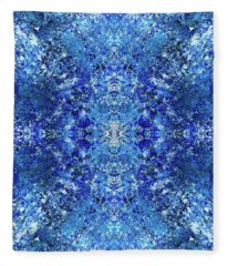 Spiritual Vibration Of The Indigo Children #1481 Fleece Blanket