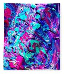 Splash Of Color Fleece Blanket
