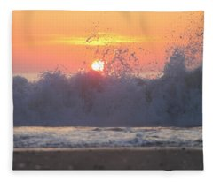 Splashing High Fleece Blanket
