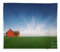 Splendid Isolation Fleece Blanket