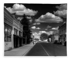 Downtown Sprague Fleece Blanket
