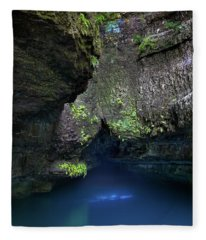 Fleece Blanket featuring the photograph Spring At Roaring River by Allin Sorenson