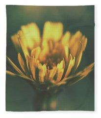 Spring Beginning Fleece Blanket