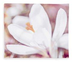 Spring Bloom Fleece Blanket